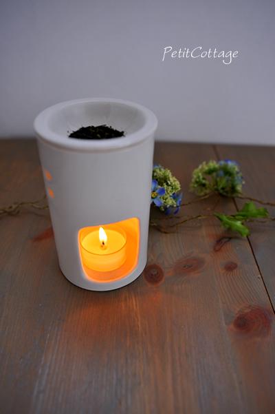 自然な和の香り~茶香炉に挑戦~